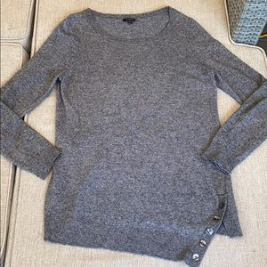 Ann Taylor Size Large modal wool cashmere sweater